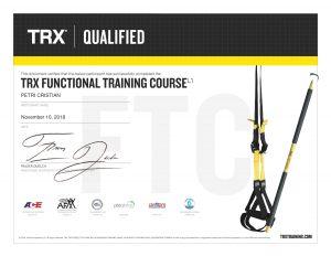 TRX - Functional training certification