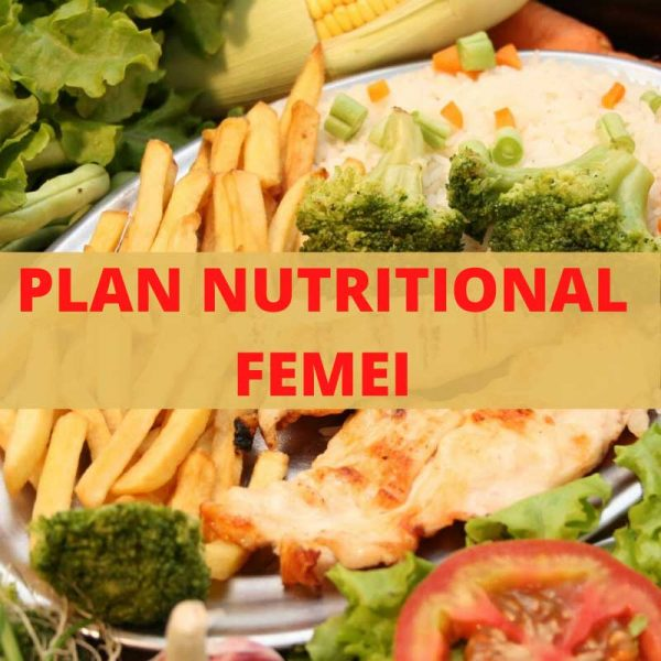 plan nutritional femei