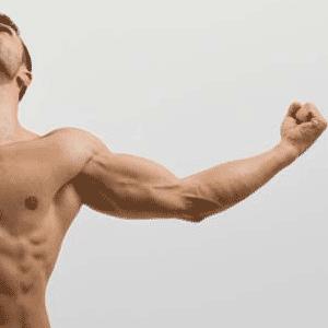 skinny muscular